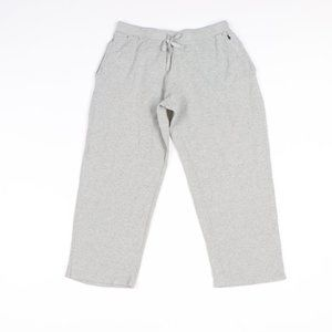 Ralph Lauren Thermal Knit Lounge Sweatpants Gray